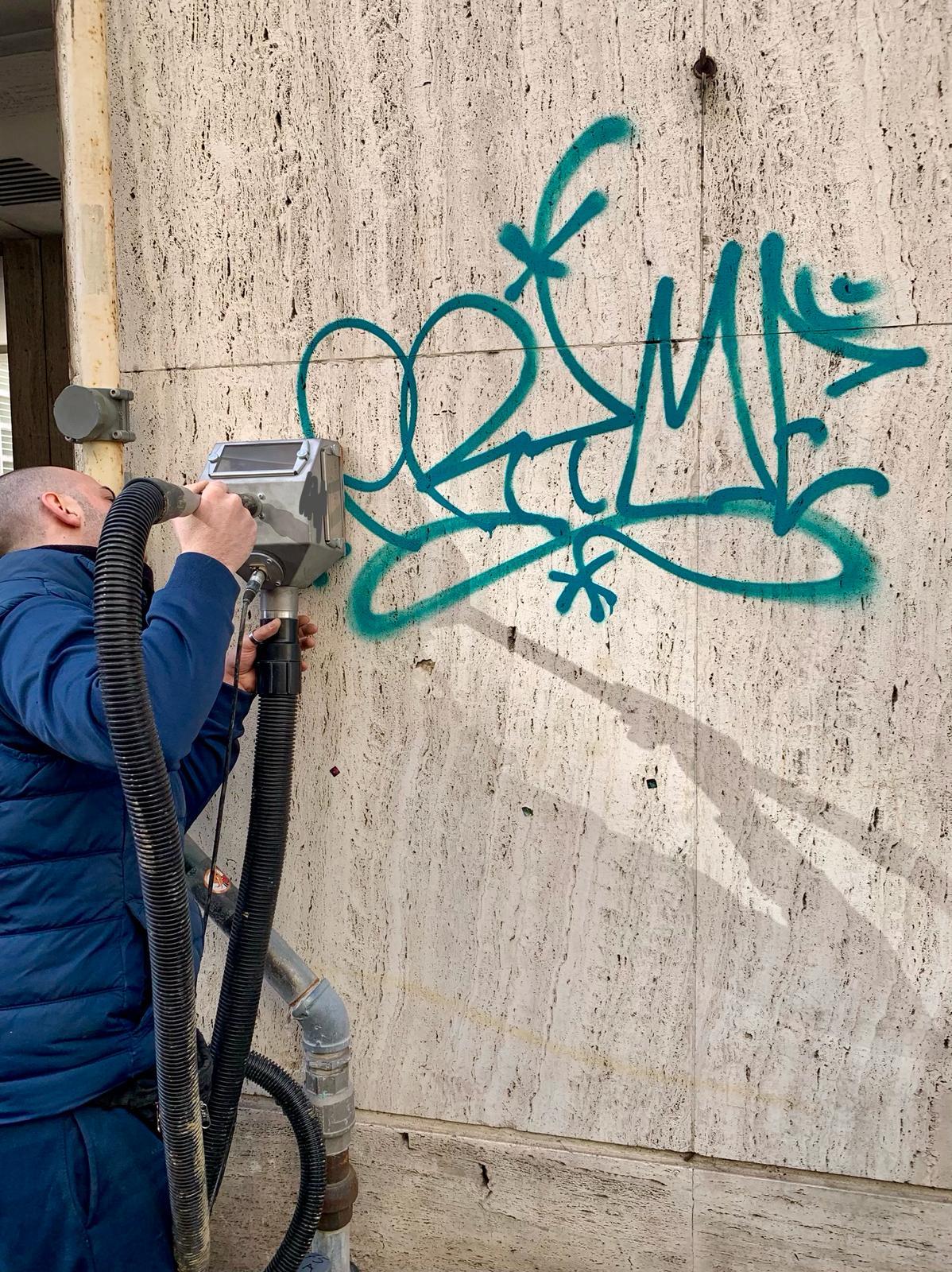 Eliminare Graffiti Genova